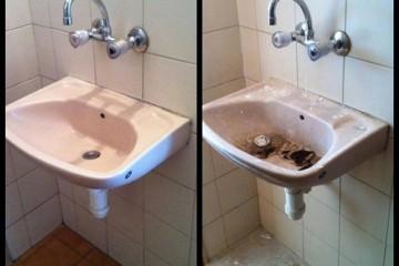 ניקיון בתים לפני ואחרי